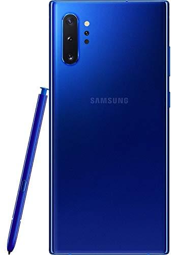 Samsung Galaxy Note 10+ Plus Factory Unlocked Cell Phone with 256GB (U.S. Warranty), Blue (Renewed)