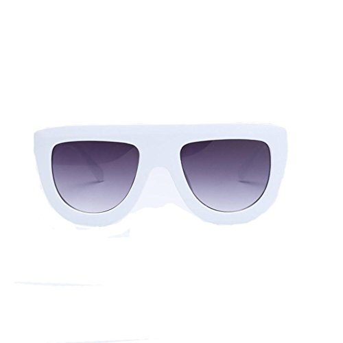 Portección Polarizado cuadradas Sunglass Moda Hombre de de Gafas sol Marco UV Mujer Gafas Sol Lentes Clásico Espejo Marca Brillo A Gafas clásica grande unisex de sol RH0n0x7