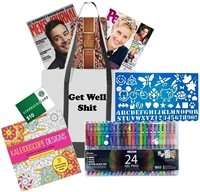Get Well Shit Coloring Gift Card Set