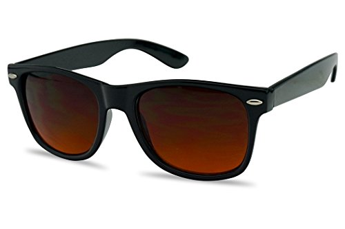 679ba3ef73 SunglassUP Colorful Classic 80 s Vintage Pantone   Mirrored Lens Wayfarer  Sunglasses