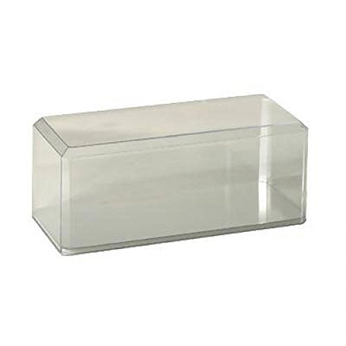 Pioneer Plastics 1/18 Clear Plastic Display Case - Stackable