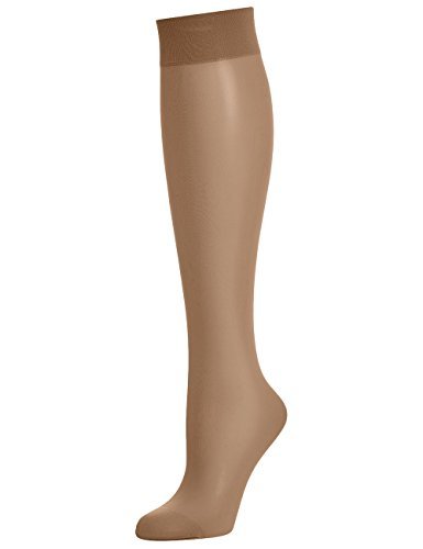 Wolford women's Knee High Individual 10 Tights Hosiery Caramel M