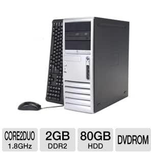HP Compaq Dc7700 Convertible Minitower PC