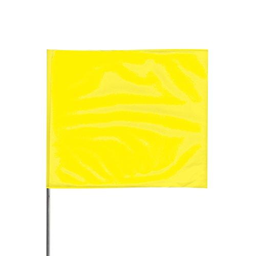 Presco Steel Wire Staff Marking Flags: 2-1/2 in. x 3-1/2 in.