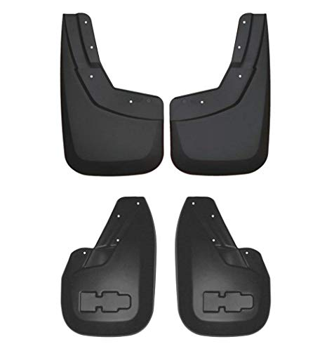 Husky Liners 57771/56711 Pair of Black Front & Rear Form Fit Mud Guards for 06-09 Hummer H3