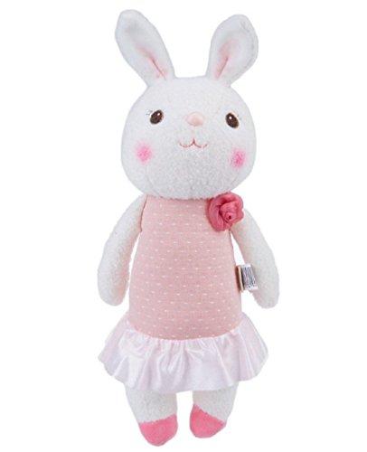 [35cm Genuine Metoo Toys children Tiramisu Rabbits Cute Stuffed cartoon Animals Design Plush Toy Doll Birthday/Xmas/New year Gifts For Girls (Type] (Original Ultraman Costume)