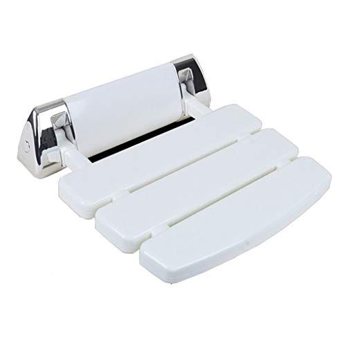 (Shower Stool Aluminum Alloy Folding Shower Seating Chair for Adults Seniors Disabled Women Handicap Elderly Slatted Bath Board)