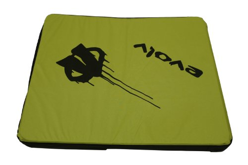 Evolv Iceman Crash Pad (Lime ) (Rock Climbing Crash Pad)