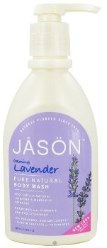 Lavender Satin Body Wash with pump-900 ml Brand: Jason (Jason Natural Lavender Satin)