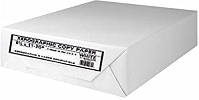 Xerographic Copy Paper Multipurpose Fax Laser Inkjet Printer, 8 1/2 x 11 inch Letter Size, 20 lb. Density, 92 Bright White, Ream, 500 Total Sheets (OM44015-Ream)