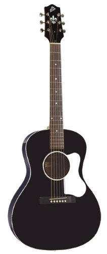 The Loar LO-16-BK Flat Top Acoustic Guitar, L-00 Body, Black
