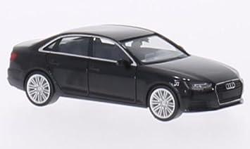 Audi A4 B9 Schwarz 2015 Modellauto Fertigmodell Herpa 1 87 Spielzeug