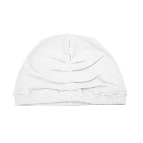 Betty Dain Stretch Terry Cloth Turban, White
