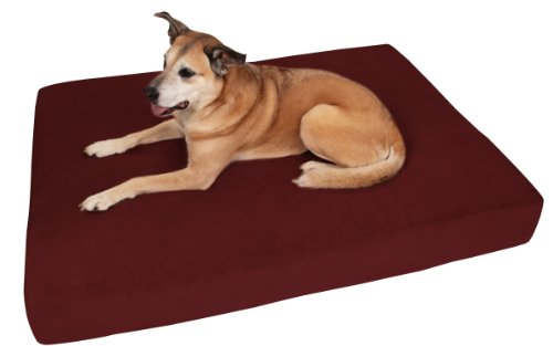 """Big Barker 7"""" Pillow Top Orthopedic Dog Bed for Large and Extra Large Breed Dogs (Sleek Edition) by Big Barker"""