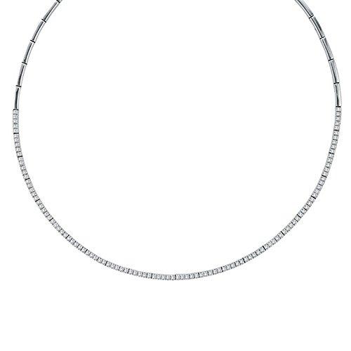 Diamond Tennis Choker Necklace