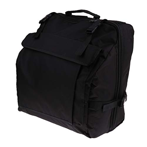 - Baosity Thick Padded Bass Piano Accordion Gig Bag Accordion Case Backpack - 120 Bass