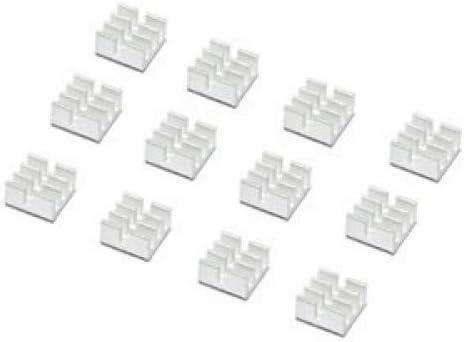 SogYupk 20 PCS mini Aluminum Chips VGA RAM Cooling Heatsinks heat sink cooler
