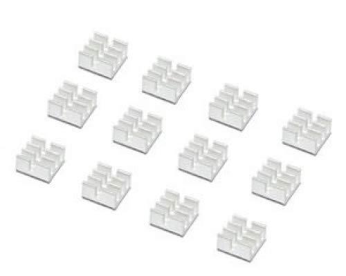 Enzotech Forged - SogYupk 20 PCS mini Aluminum Chips VGA RAM Cooling Heatsinks heat sink cooler