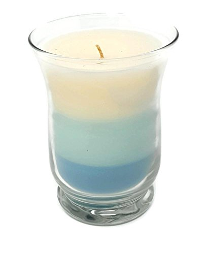 Slim Hurricane Scented Jar Candle by PartyLite (Ocean Berry Breeze)