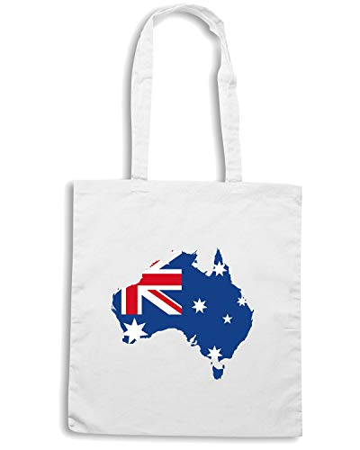 WC0026 Shopper Borsa Shirt Speed AUSTRALIA Bianca 0xq7ORwnS