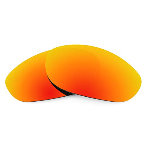Revant Polarized Replacement Lenses for Oakley Monster Dog Elite Fire Red MirrorShield