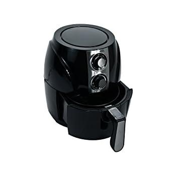 Healthy Choice 3.2 Qt 1400 watts Black Electric Air Fryer