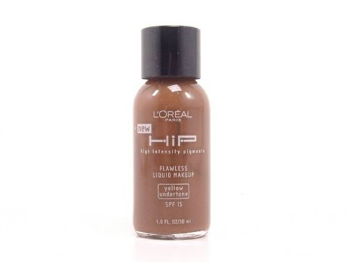 L'Oreal HIP High Intensity Pigments Flawless Liquid Makeup SPF 15 830 Mahogany (Yellow Understone)