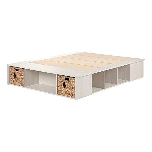 South Shore Furniture Oak Bed - 1