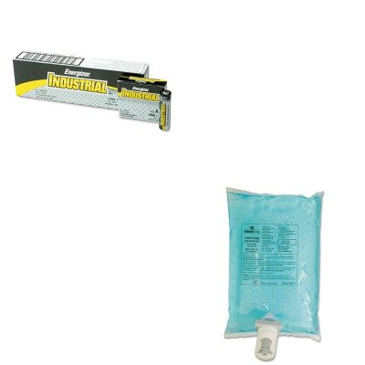 KITEVEEN91RCP750112 - Value Kit - Rubbermaid Autofoam Hand Soap Refill (RCP750112) and Energizer Industrial Alkaline Batteries (EVEEN91) by Rubbermaid