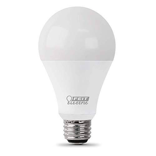 Feit Electric - High Lumen A21 LED 150W Equivalent Warm White Dimmable Light Bulb, (A/OM2200/830/LEDG2)