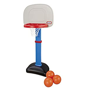 31yRCHsN8uL. SS300  - Little Tikes Easy Score Basketball Set, Blue, 3 Balls - Amazon Exclusive