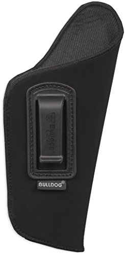 - Bulldog Cases DIP-20 Deluxe Inside Pants Holster with Polymer Clip Fits Most Sub Compact Semi Autos w/2-3 Barrel (Ruger LC9, Glock 42-43)