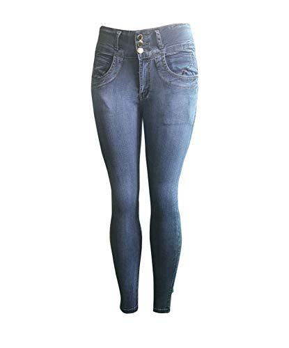 Regular Slim Come Moda Compatta Elegante Stretch Immagine1 Pantaloni Donna Jeans qnBgx4v