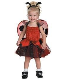 [Disguise Babybug Ladybug Girls Costume, 4-6X] (Girls Bug Costumes)