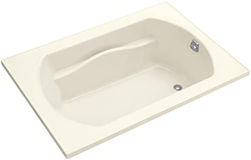 STERLING, a KOHLER Company 71281100-96 Lawson Series 7128 60 by 42-Inch Bath with Reversible Drain, Biscuit