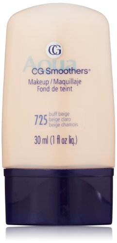 CoverGirl Smoothers Liquid Make Up, Buff Beige 725, 1 once