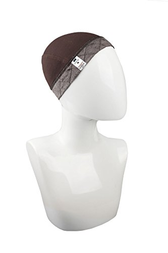 Milano Collection GripCap All In One WiGrip Comfort Band Wig Cap In Brown