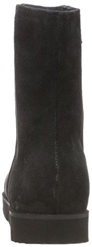 Bottes Noir Noir Doublure avec intérieure Booty Femmes Xyxyx Courtes qHTp5xRR