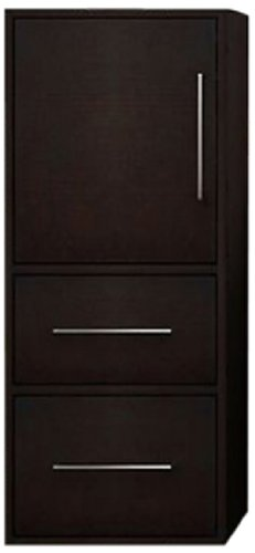 Willow Creek Cabinets Fresco Deep Wall Hung Linen Tower Drawer Box, 12-Inch