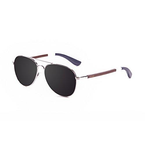 Ocean Sunglasses San Remo Lunettes de Soleil Mixte Adulte, Argent