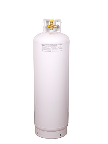 Worthington 282170 Empty Steel Propane Cylinder with Multi-Valve, 100-Pound by Worthington