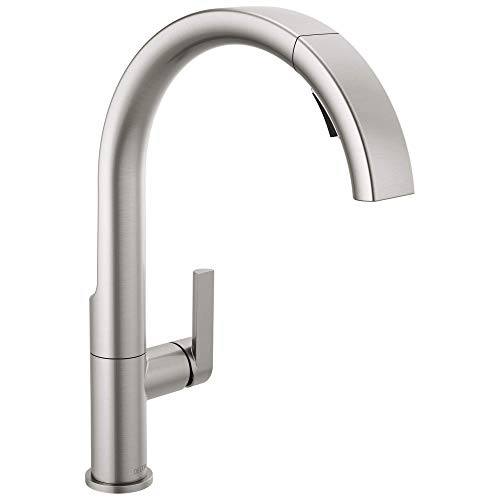 DELTA Keele Kitchen Faucet with Pull Down Sprayer, Kitchen Sink Faucet, Faucets for Kitchen Sinks, Single-Handle…