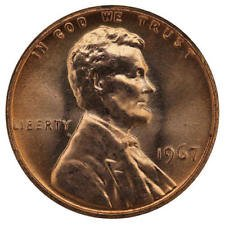 - 1966 Uncirculated Lincoln Proof Like Cent Choice Uncirculated
