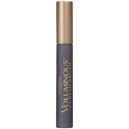 L'Oreal Paris Makeup Voluminous Original Volume Building Curved Brush Mascara, Black Brown, 0.28 fl. oz.