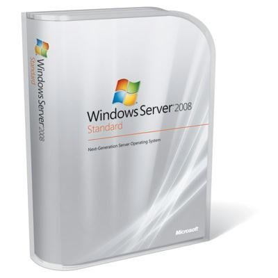 Microsoft Windows Server Standard 2008 10 Client [Old Version]