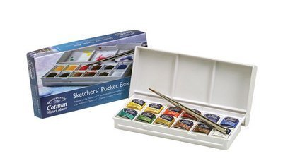 Winsor Newton 390640 Cotman Sketchers Pocket Watercolor -