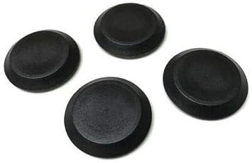 Sheet Metal Auto Body Panel 4 1-1//4 Inch Black Plastic Flush Mount Hole Plug Vital All-Terrain