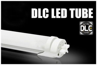 Goodsteward 4ft LED Light Tube, 22W, Frosted Lens. Ballast Bypass 5000k, Milky Cover UL, DLC, CE, ROHS Certified (Pack of 48)