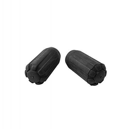 Black Diamond Trekking Pole Tip Protectors, Black