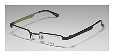 Ogi 2204 Mens/Womens Rx Ready For Young People Designer Half-rim Eyeglasses/Spectacles